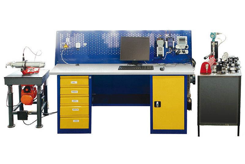 ST BP-M test bench for downhole units of sensor systems