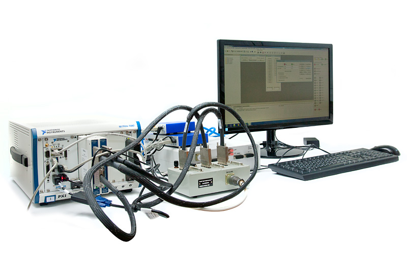 Hardware and software laboratory and debugging system for studying and experimental development of computing platforms of spacecraft onboard digital computer systems