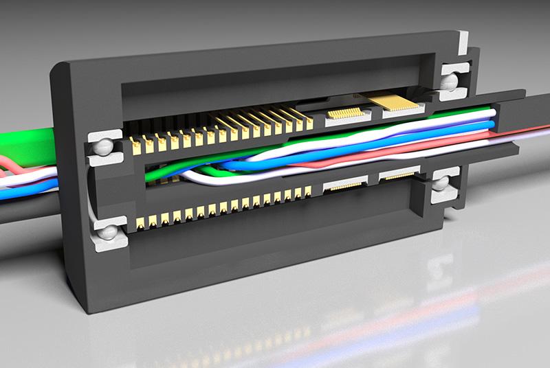 VKU Rotating electrical connectors (Slip ring)