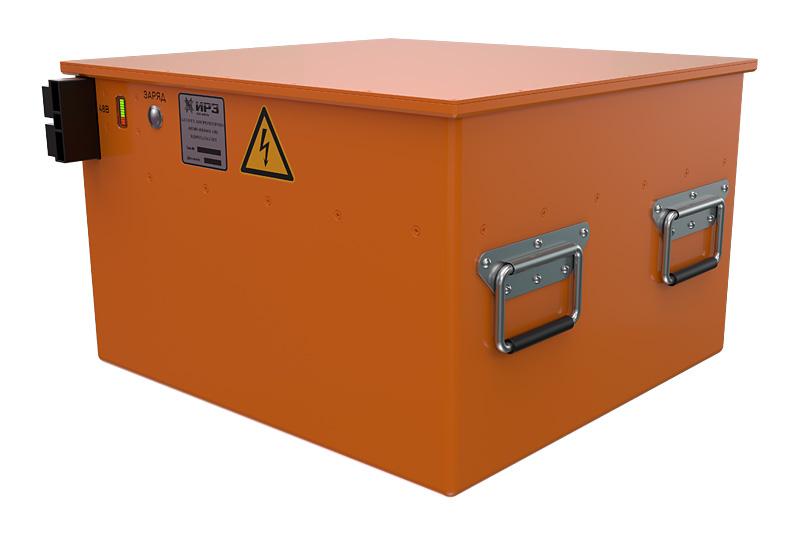 Li-on  batteries: 48V, 440 V
